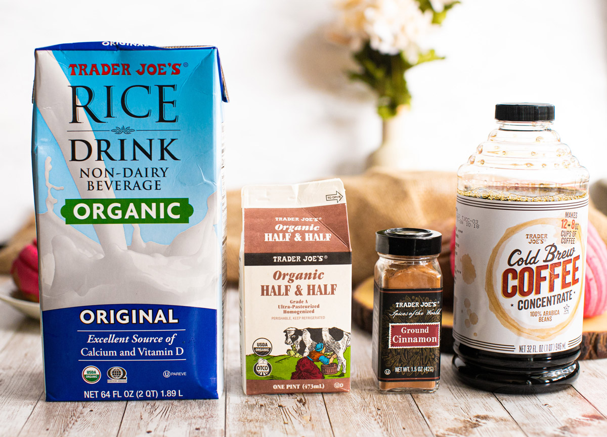 Trader Joe's Iced Horchata Coffee Recipe (Dirty Horchata)