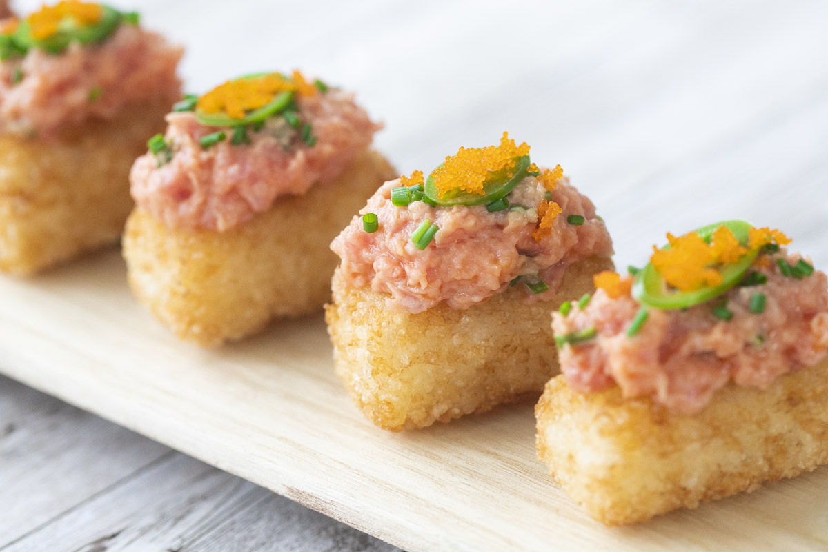 Crispy Rice with Spicy Tuna Recipe - Toro