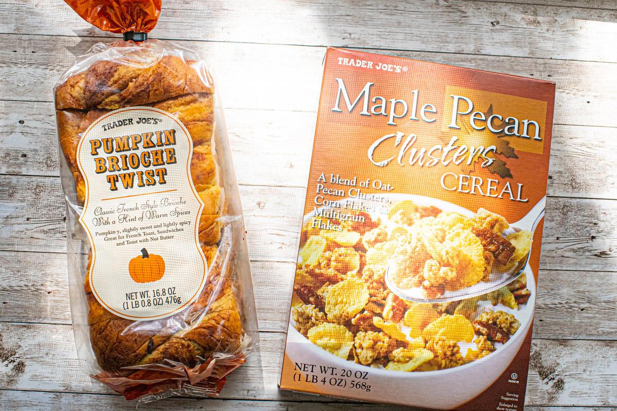 Trader Joe's Crunchy Pumpkin French Toast Recipe
