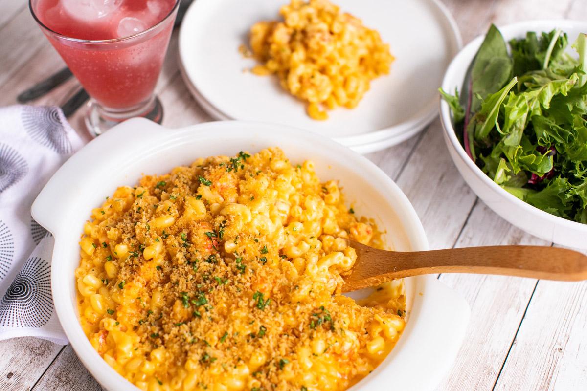 Trader Joe's Langostino Mac and Cheese Recipe