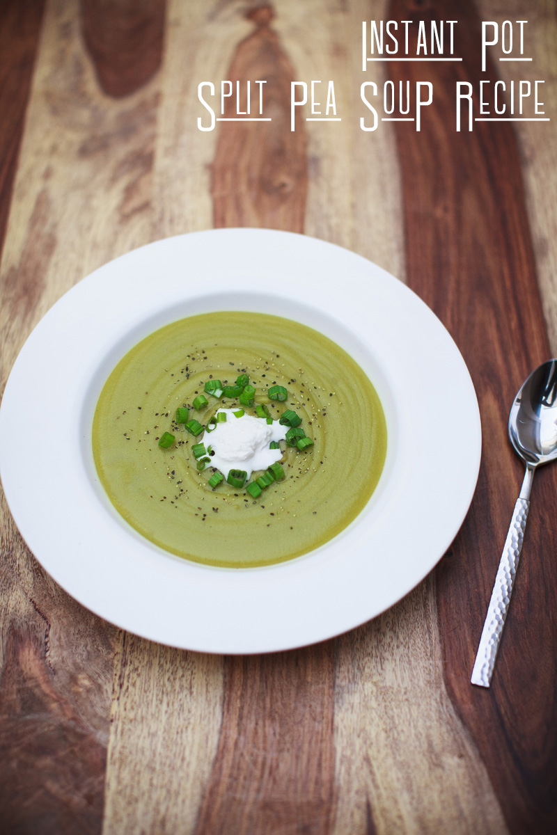 Instant Pot Split Pea Soup Recipe