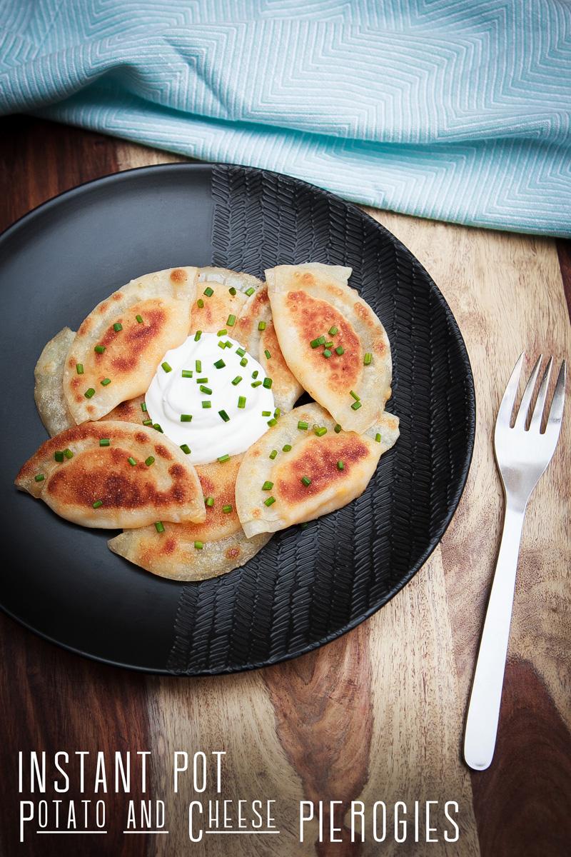 Instant Pot Potato and Cheese Pierogies Recipe