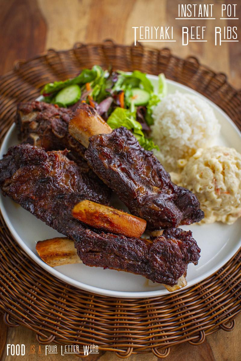 Instant Pot Teriyaki Beef Ribs Recipe
