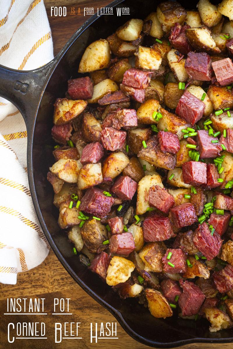 Instant Pot Corned Beef Hash Recipe