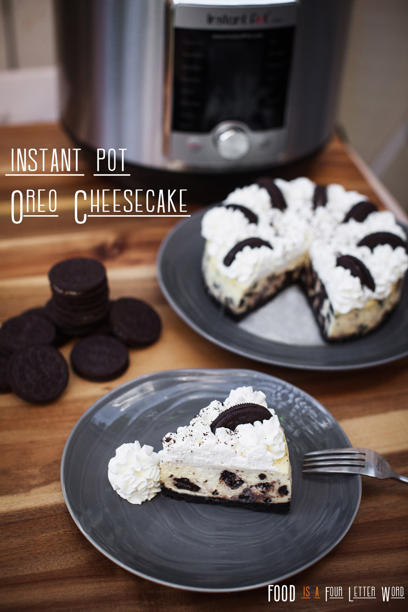 Instant Pot Oreo Cheesecake Recipe