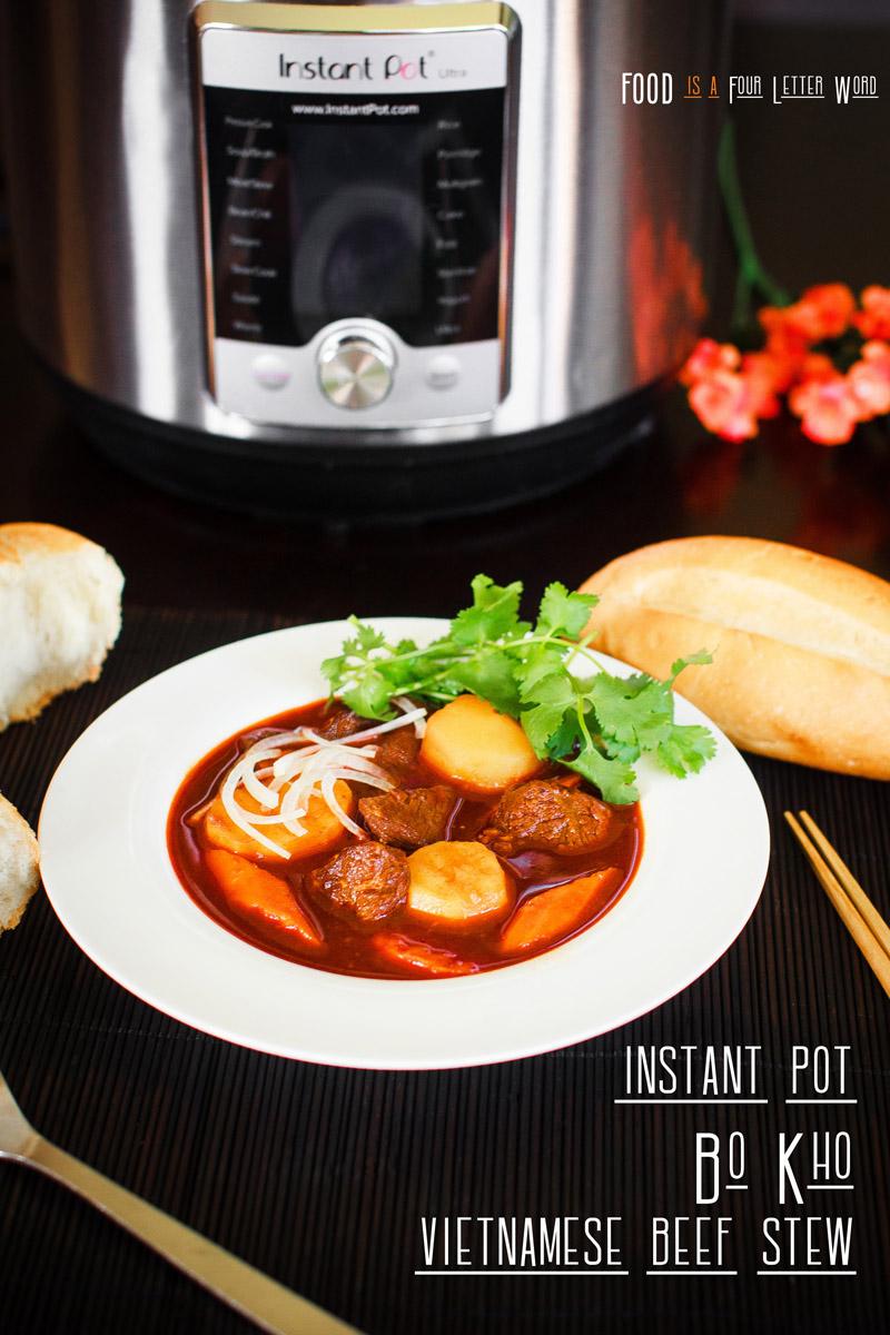 Instant Pot Bò Kho Recipe - Vietnamese Beef Stew