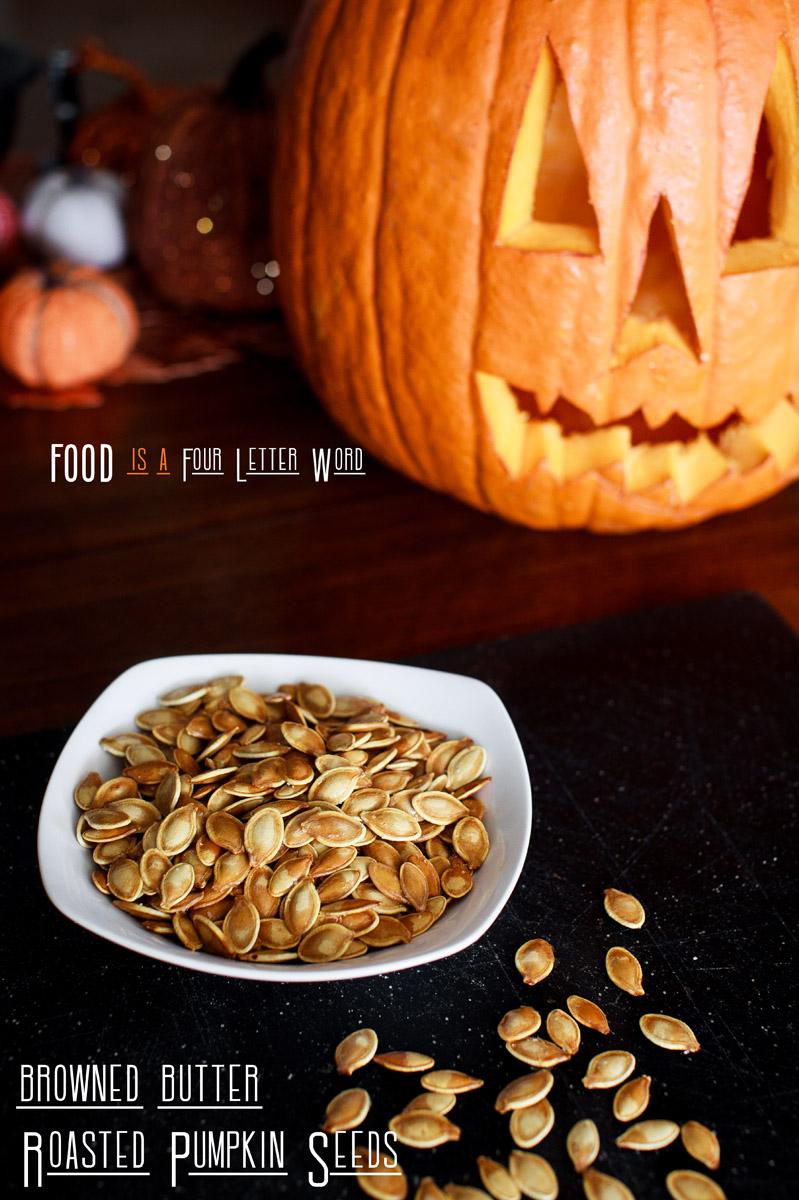 Browned Butter Roasted Pumpkin Seeds Recipe