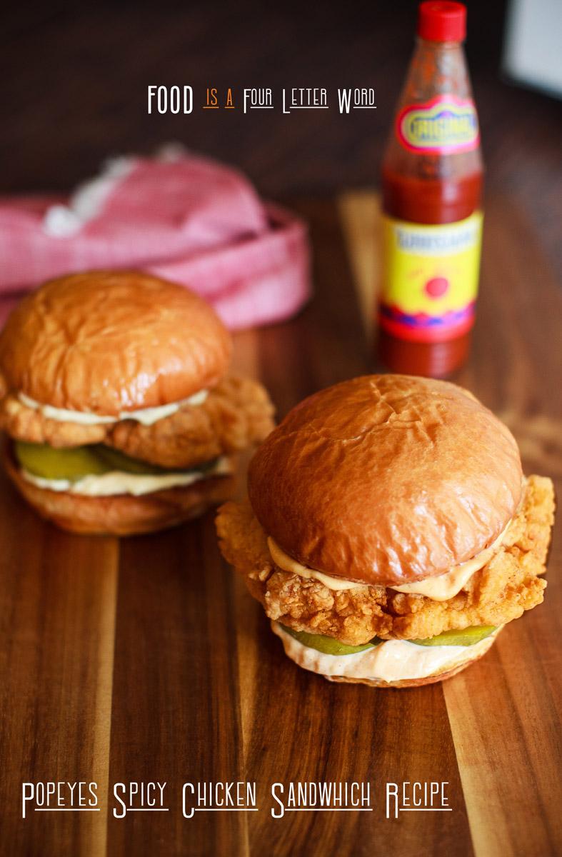 Popeyes Spicy Chicken Sandwich Recipe