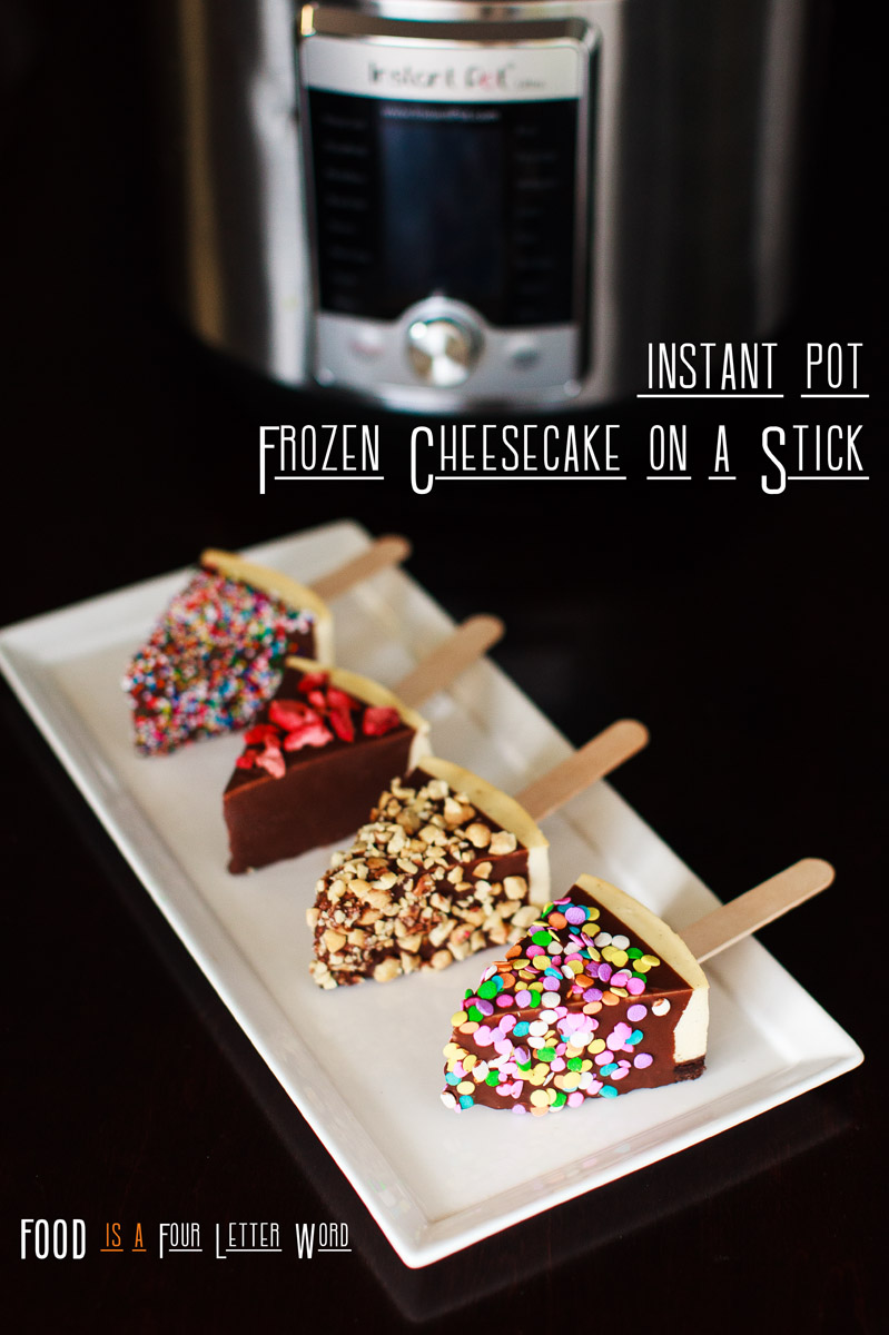 Instant Pot Frozen Cheesecake on a Stick Recipe