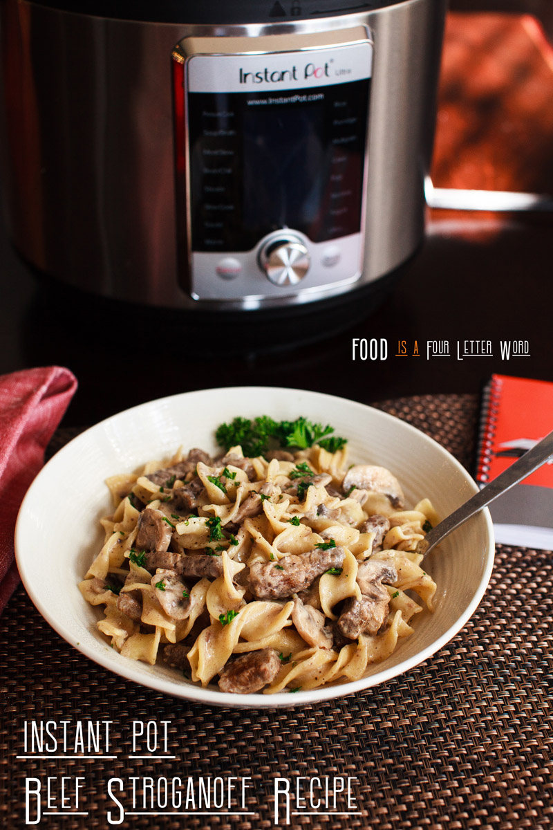 Instant Pot Beef Stroganoff Recipe (from Frank Lloyd Wright's A Taste of Taliesin West Cookbook)