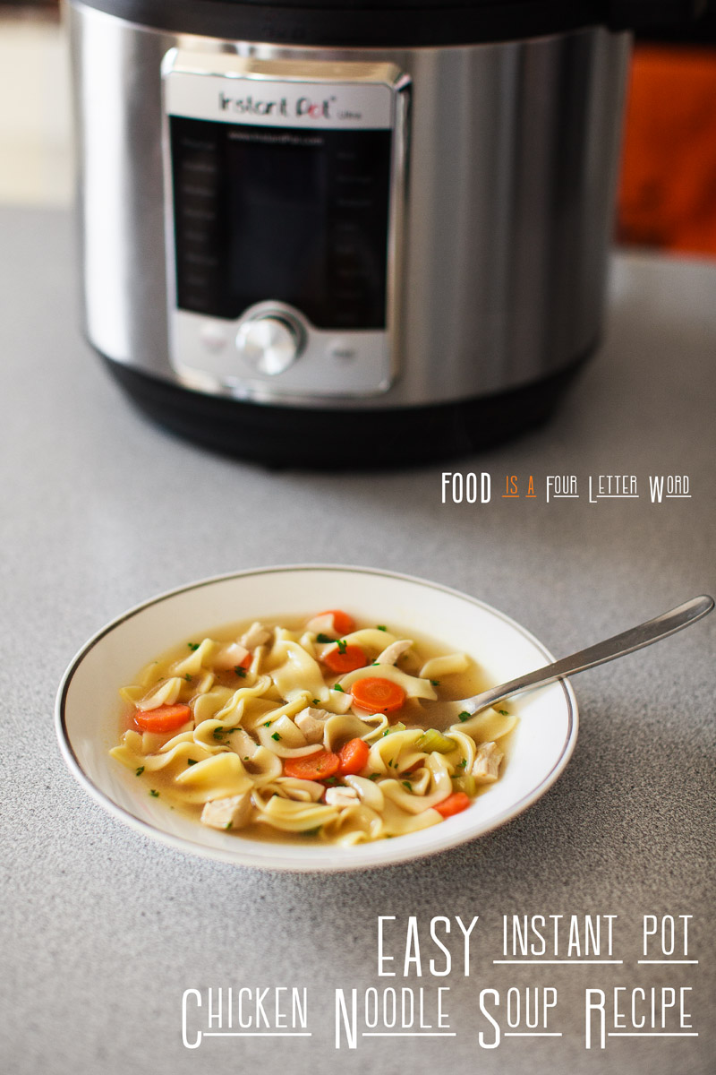 EASY Instant Pot Chicken Noodle Soup Recipe