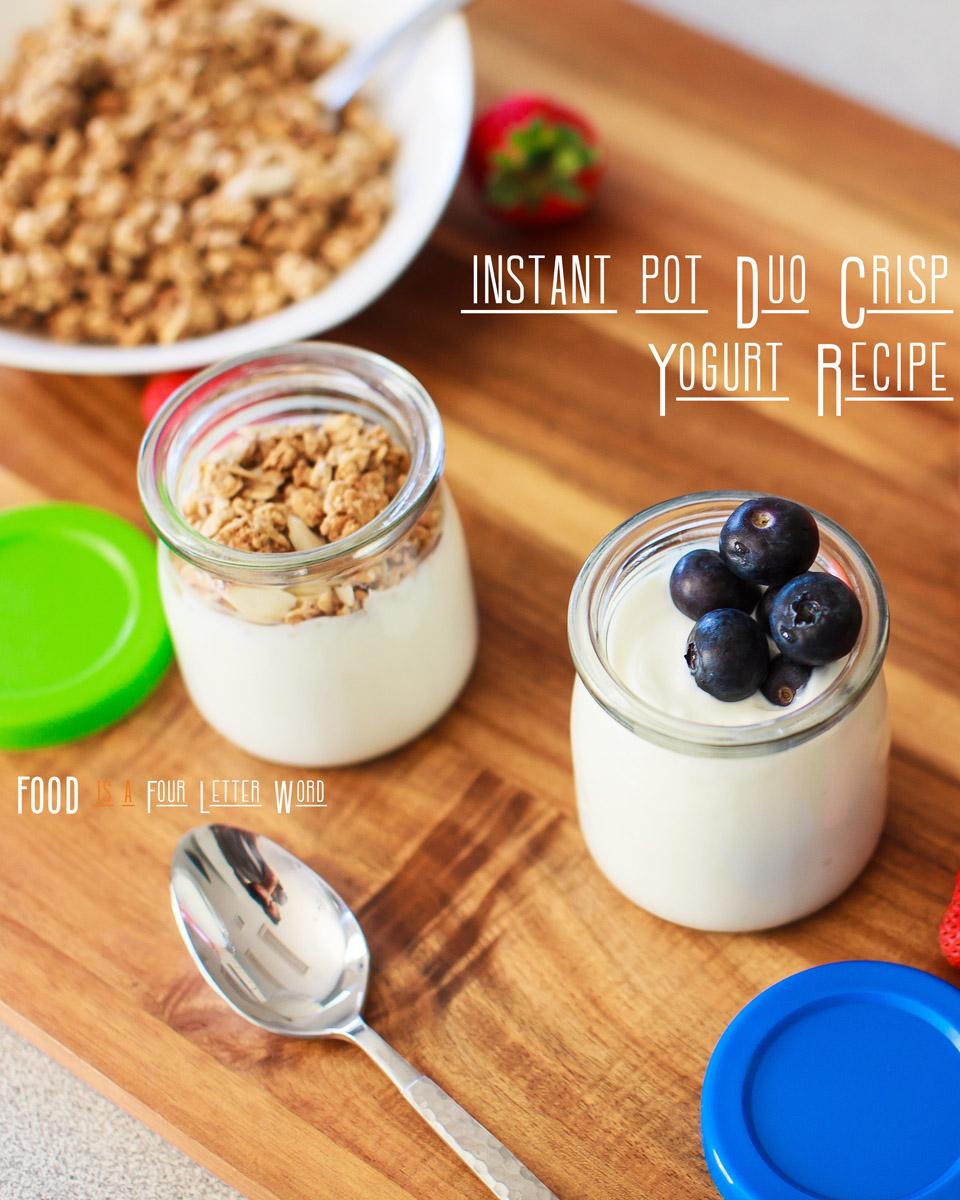 Instant Pot Duo Crisp Yogurt Recipe