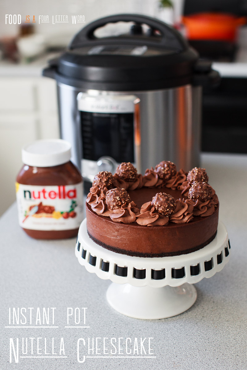 Instant Pot Nutella Cheesecake Recipe
