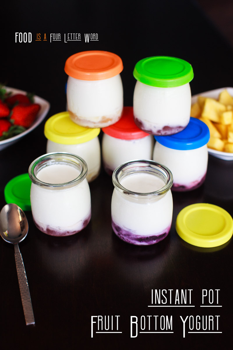 Instant Pot Fruit Bottom Yogurt Recipe