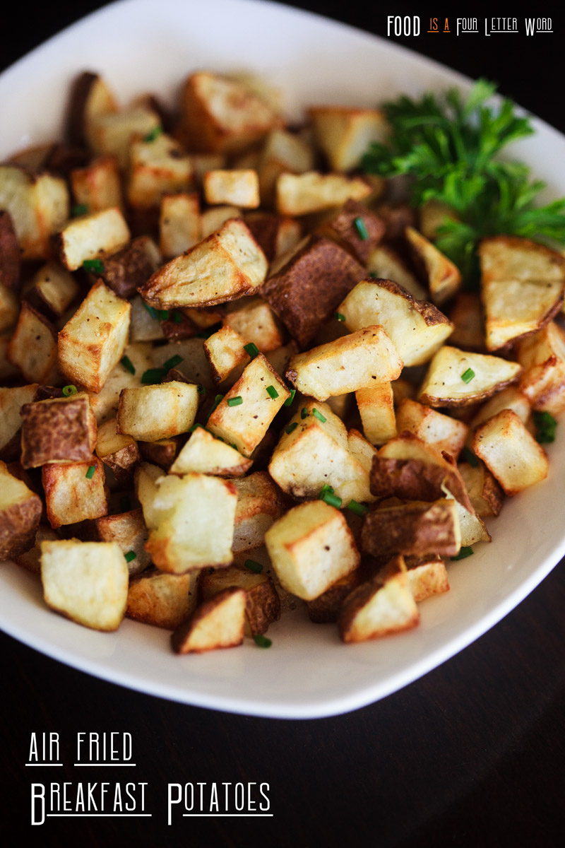 Air Fryer Breakfast Potatoes Recipe