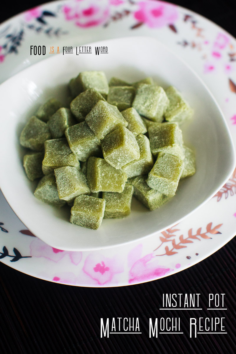 Instant Pot Matcha Mochi Recipe