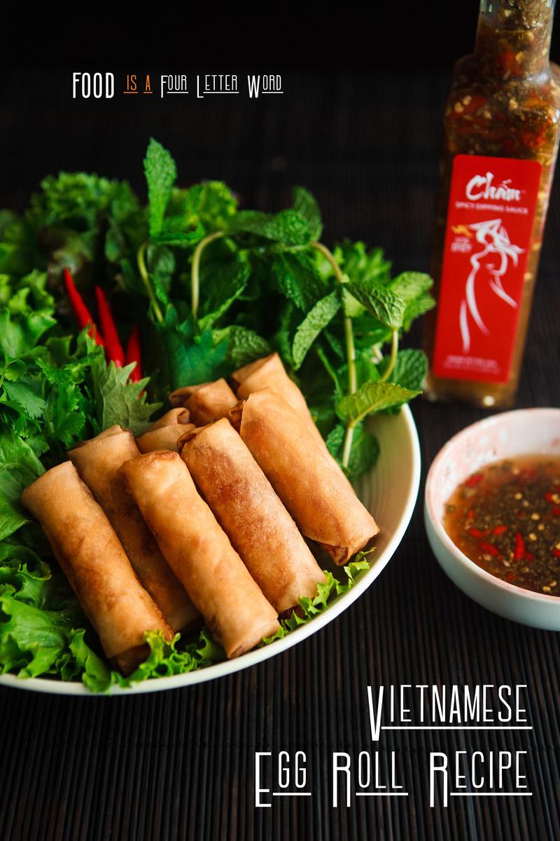 Crispy Vietnamese Egg Rolls Recipe - Chả Giò