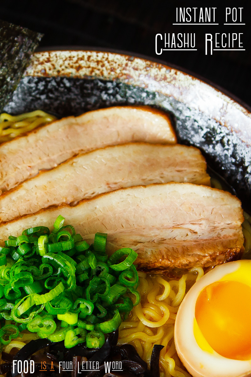 Instant Pot Chashu Recipe for Ramen (Japanese Braised Pork Belly)
