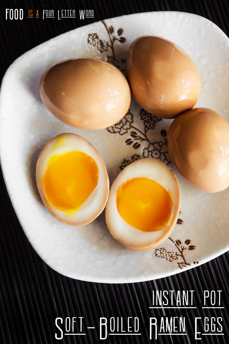 Instant Pot Soft-Boiled Ramen Eggs Recipe