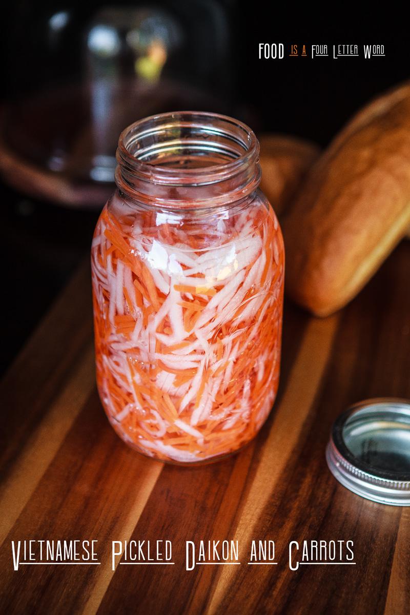 Vietnamese Pickled Daikon & Carrots Recipe (Đồ Chua)
