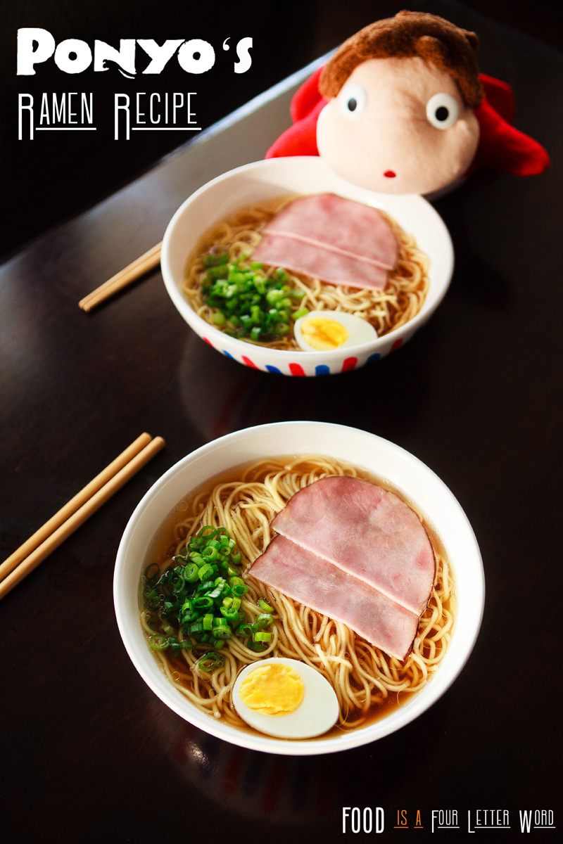 Ponyo's Ramen Recipe - Studio Ghibli Meal