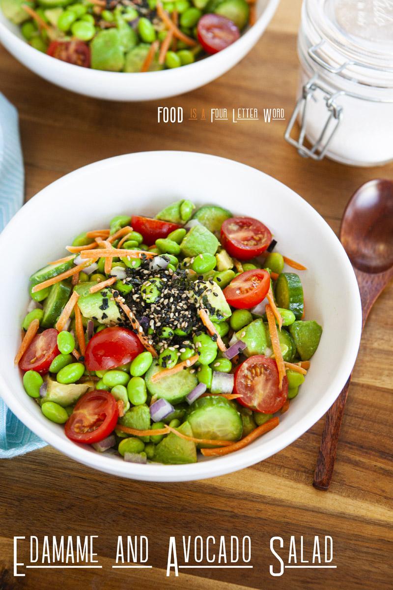 Edamame and Avocado Salad Recipe