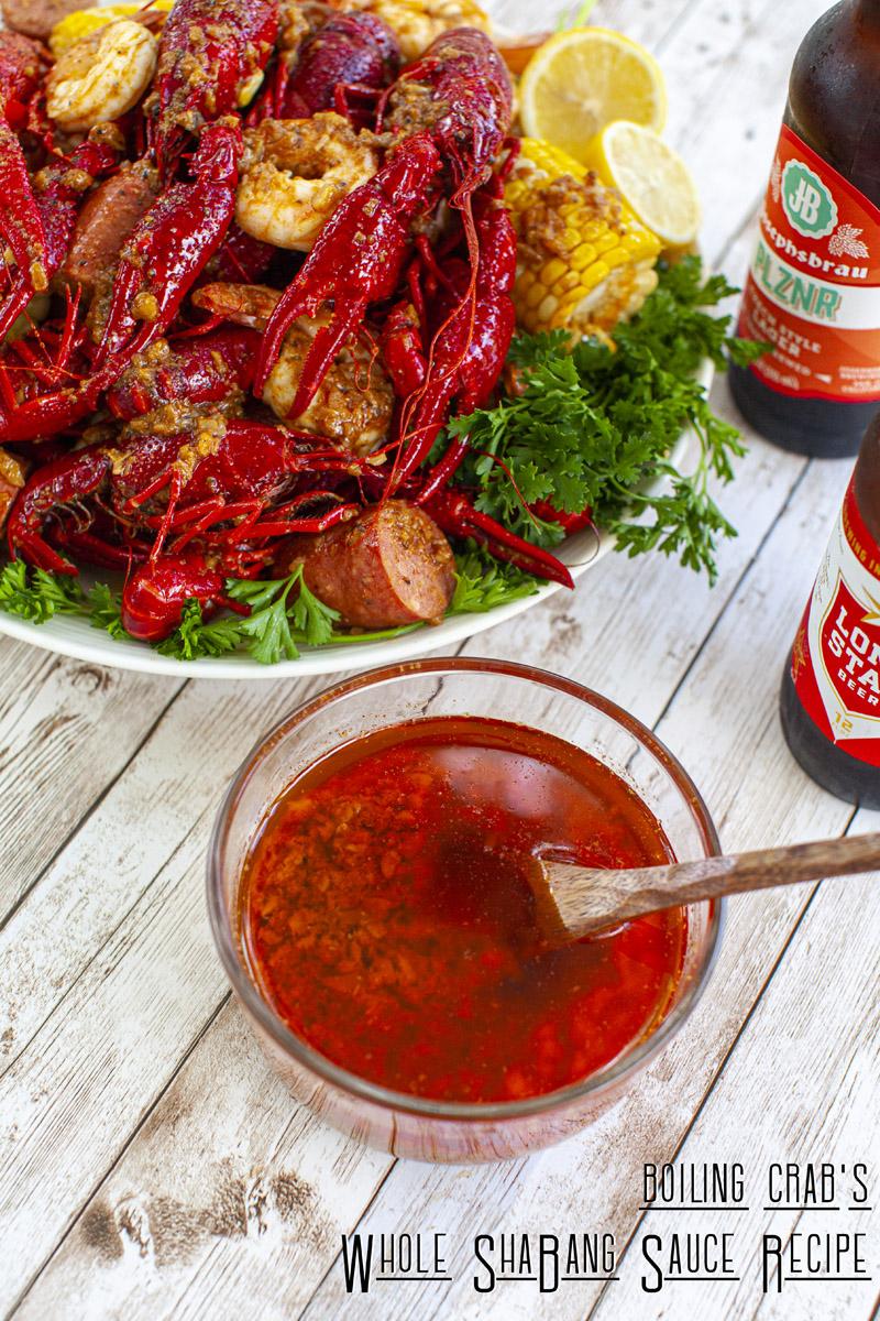 Boiling Crab's Whole ShaBang Sauce Recipe