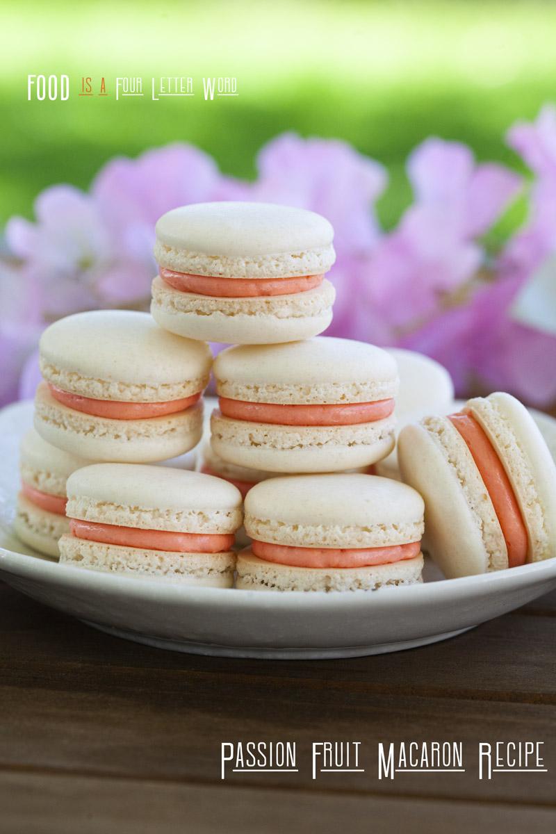 Lilikoi Macaron Recipe (Passion Fruit)